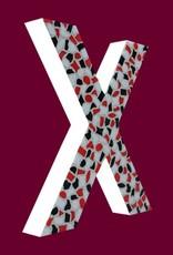 Cristallo Mozaiekpakket Letter X Stoer