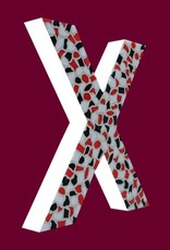 Mozaiekpakket Letter X Stoer