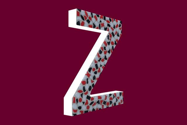 Cristallo Mozaiekpakket Letter Z Stoer