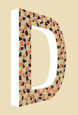 Mozaiekpakket Letter D Warm