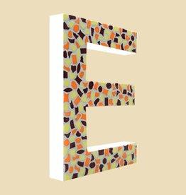 Cristallo Design Warm, Letter E