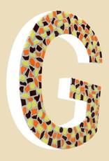 Cristallo Mozaiekpakket Letter G Warm