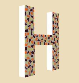 Cristallo Design Warm, Letter H