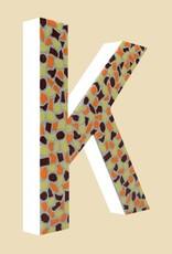 Cristallo Mozaiekpakket Letter K Warm