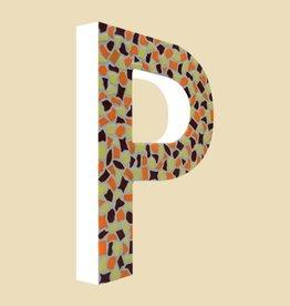 Cristallo Design Warm, Letter P
