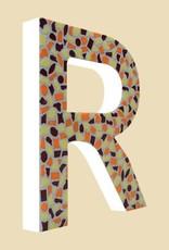 Cristallo Mozaiekpakket Letter R Warm