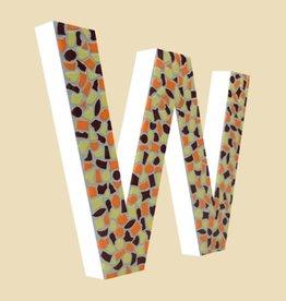 Cristallo Design Warm, Letter W