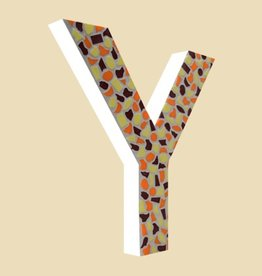 Cristallo Design Warm, Letter Y