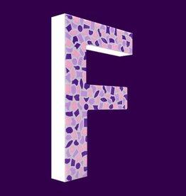 Design Zacht, Letter F