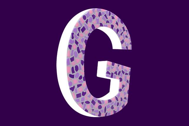 Cristallo Mozaiekpakket Letter G Zacht