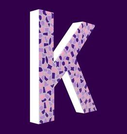 Cristallo Design Zacht, Letter K