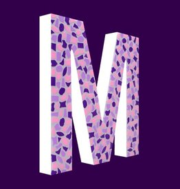 Cristallo Design Zacht, Letter M