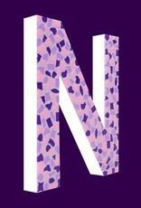 Cristallo Mozaiekpakket Letter N Zacht