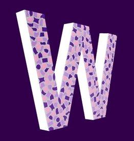 Cristallo Design Zacht, Letter W