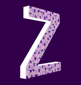 Cristallo Design Zacht, Letter Z