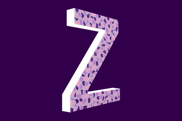 Cristallo Mozaiekpakket Letter Z Zacht