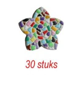 Cristallo Bloem 30 stuks mozaiekpakket