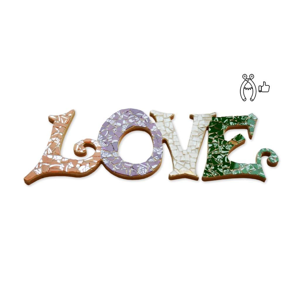 Cristallo Love Qringle (paars-oranje-groen-wit)