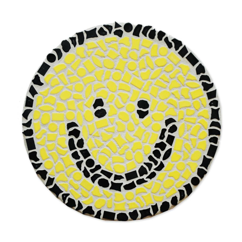 Mozaiekpakket Wandbord Smiley