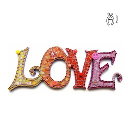 Mozaiek Love Luxe Hot
