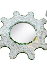 Compleet spiegel glasmozaiekpakket Zon