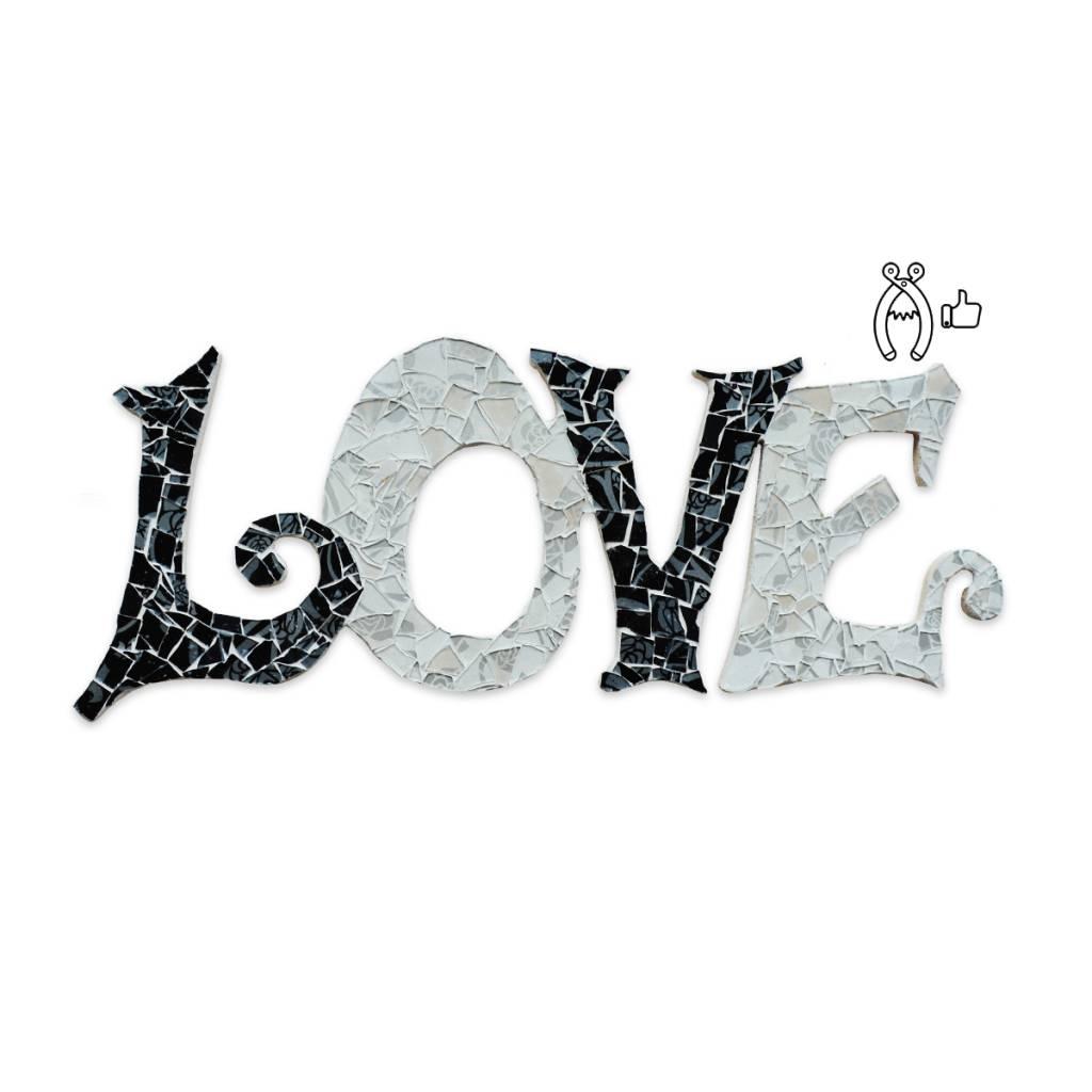 Love Qringle (zwart-wit)
