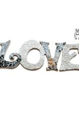 Cristallo Love Qringle (zwart-wit)