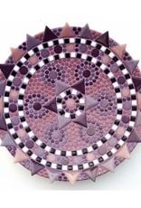 Mozaiek schaal Spetter paars-lila-roze