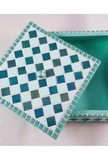 Sieradenkistje mozaïek pakket Fiësta Turquoise