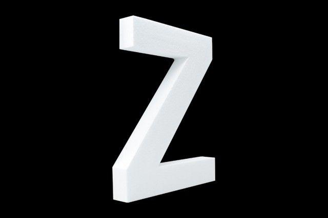 Blanco letter Z