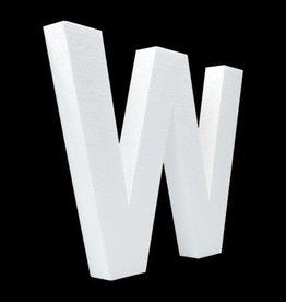 Blanco letter W