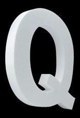 Cristallo Blanco letter Q
