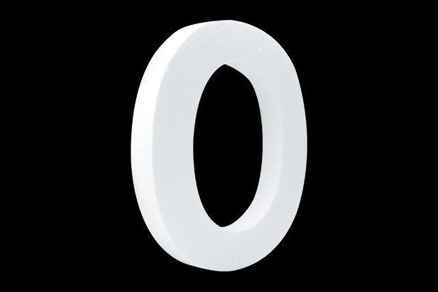 Cristallo Blanco letter O