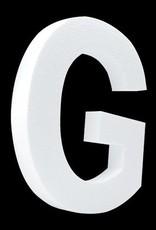Cristallo Blanco letter G