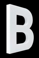 Cristallo Blanco letter B