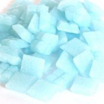 Cristallo Glas-mozaieksteentjes 1x1 cm ca. 200 stuks Lichtblauw