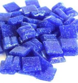 Cristallo Glas-mozaieksteentjes 1x1 cm ca. 200 stuks Donkerblauw