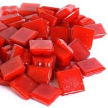 Glas-mozaieksteentjes 1x1 cm ca. 200 stuks Rood