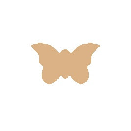 Vlinder MDF