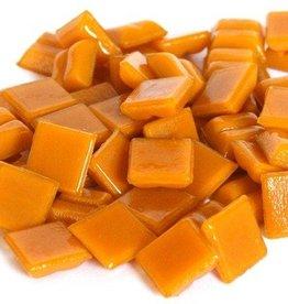 Glas-mozaieksteentjes 1x1 cm ca. 200 stuks Oranje