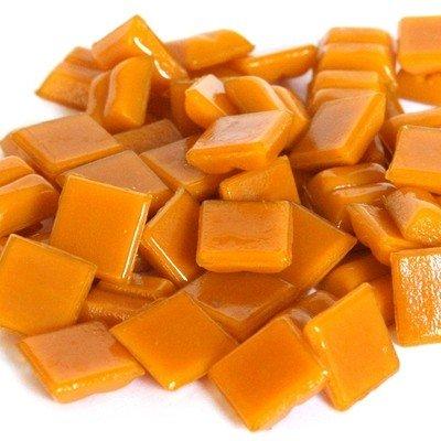 Cristallo Glas-mozaieksteentjes 1x1 cm ca. 200 stuks Oranje