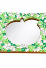 Cristallo Mozaiek pakket Spiegel DeLuxe Appel Lente