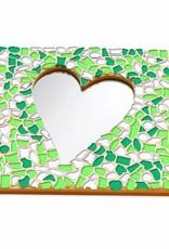 Mozaiek pakket Spiegel DeLuxe Hart Lente