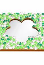 Cristallo Mozaiek pakket Spiegel DeLuxe Bloem Lente
