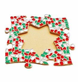 Mozaiek pakket Fotolijst Ster Kerst