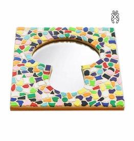Mozaiekpakket Spiegel DeLuxe Paddestoel Vario