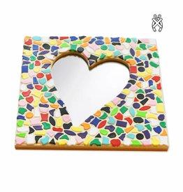 Cristallo Mozaiekpakket Spiegel DeLuxe Hart Vario