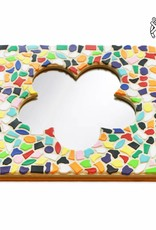 Spiegel Bloem Vario mozaiekpakket