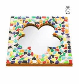 Cristallo Mozaiekpakket Spiegel DeLuxe Bloem Vario