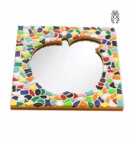 Mozaiekpakket Spiegel DeLuxe Appel Vario